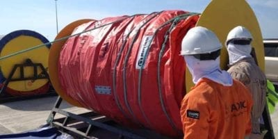 Self-inflatable containment booms Seamaster