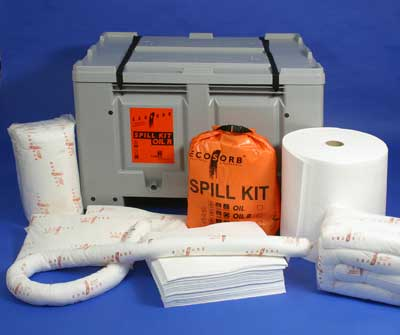 Spill kits absorbentes industriales 2 | Sorbent spill kits: industrial