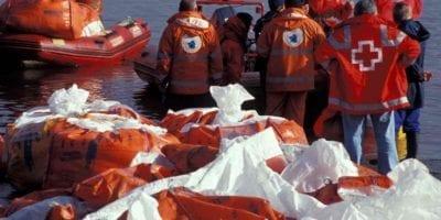 Sorbent oil spill kits:  marine