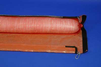 barreras absorbentes faldon skirted sorbent booms2 | Skirted sorbent booms