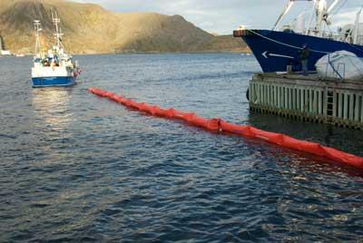 barreras serie A01   Barreras de contención cilíndricas Ecosolid