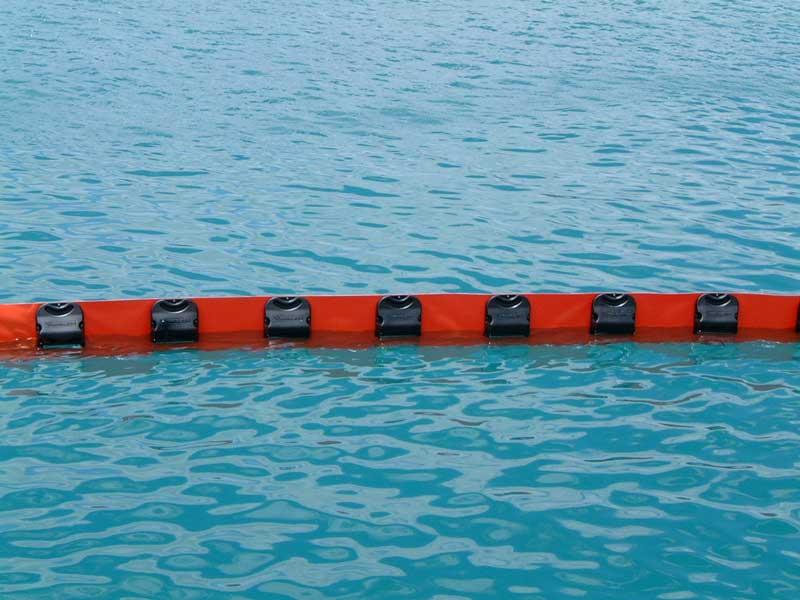 Barreras-contencion serie-PFLoating booms with rigid floats
