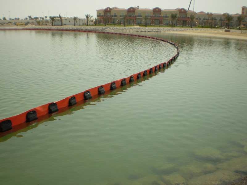 barreras serie P04 1 | Barreras flotantes permanentes Serie P
