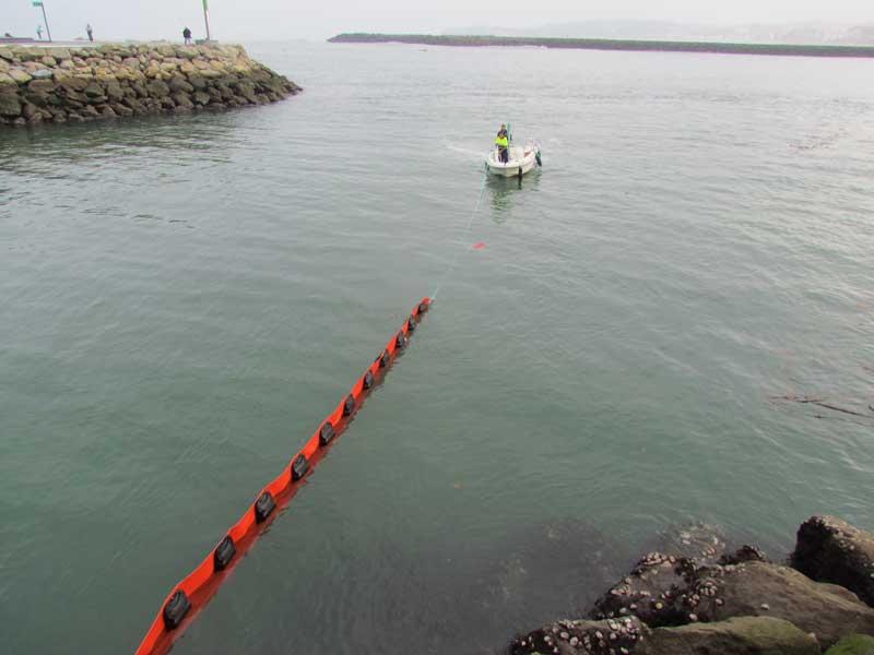 barreras serie P05 | Barreras flotantes permanentes Serie P