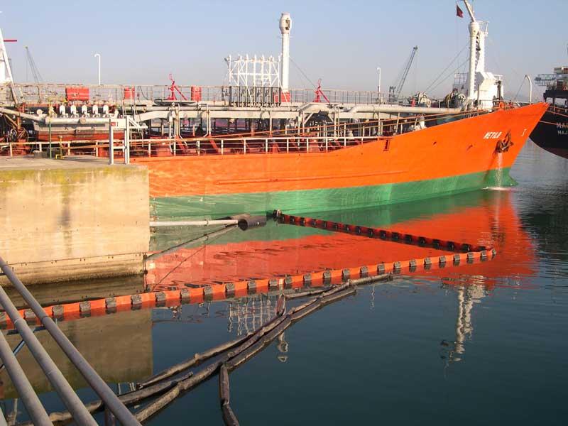 barreras serie P06 | Barreras flotantes permanentes Serie P