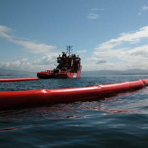 Marine oil containment booms SerieZ