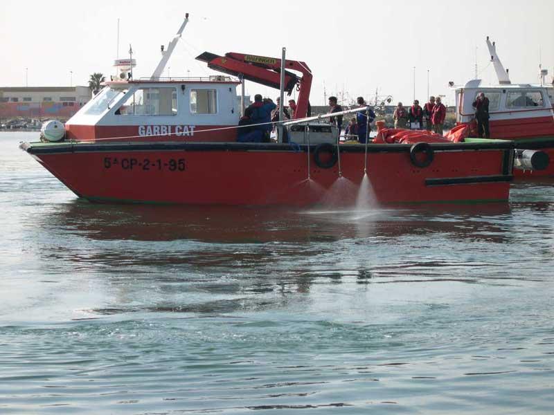sistema dispersante barcos Dispersant3 | Sistemas de aplicación de dispersantes