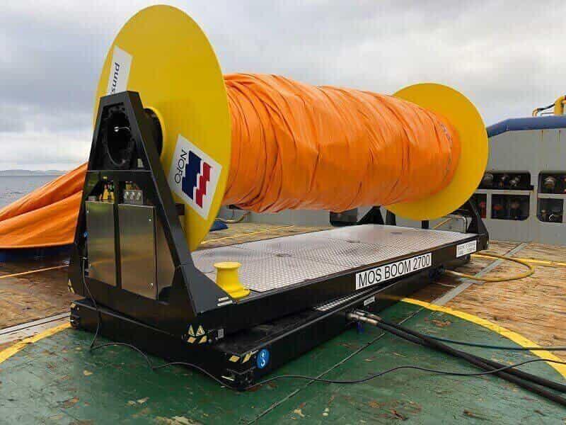 Turntable base hydraulic reel