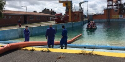 Markleen trains staff at Spain's coast guard training centre