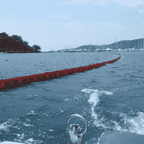 barrera flexi03 min 1 | Flat floatation containment booms Flexi Series