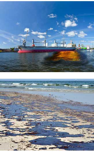 limpieza derrames mar tecnicas | Técnicas de recuperación y limpieza de derrames de petróleo en el mar