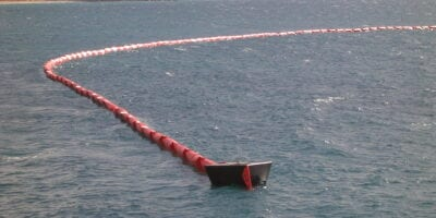 Markleen silt curtains for construction and dredging work in ports, rivers and along coastlines