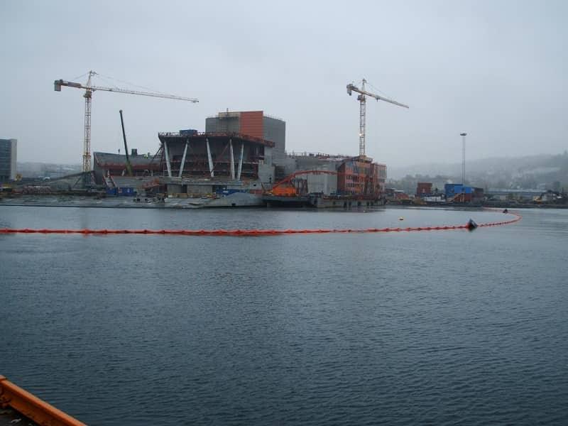 Barrera antiturbidez Oslo